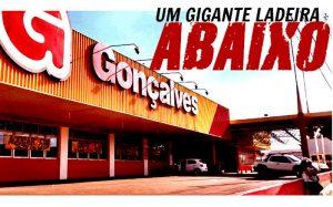 Supermercado Gonçalves fecha mais uma loja