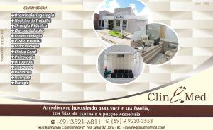 Clínica ClinMed conta com atendimento em diversas especialidades em Jaru