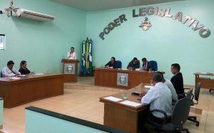 Secretária de Saúde Marcilene Souza Participa de Sessão na Câmara de Vereadores
