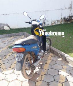 Polícia Militar de Jaru recupera Motocicleta Furtada em Ariquemes