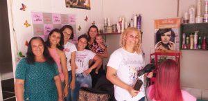 """Venha conhecer o Salão de Beleza """" Moura """" em Vila Palmares"""