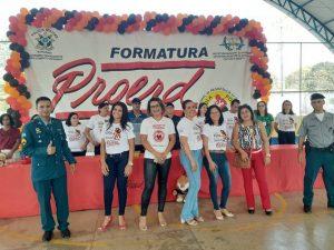 Formatura do PROERD das Escolas João Marques Ferreira e Josilei da Silva Nascimento