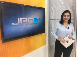 Jornalista de Rondônia Ana Lídia vai apresentar Jornal Nacional neste sábado (21/09)