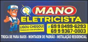 MANO ELETRICISTA – Precisou de eletricista é só ligar!!