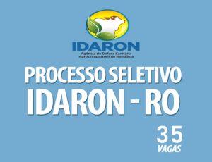 IDARON abre processo seletivo para Médico Verrinário com salário de R$ 4.000,00