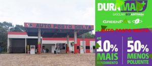 Venha abastecer seu carro com a gasolina DuraMais do AUTO POSTO DELTA em Theobroma