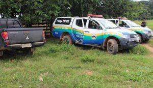 PM cumpre determinação judicial após fazenda Jatobá ser atacada por criminosos