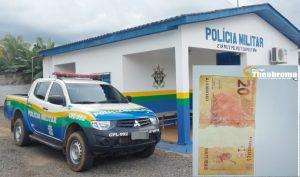 ALERTA: Comerciante fica no prejuízo após receber nota falsa em Theobroma