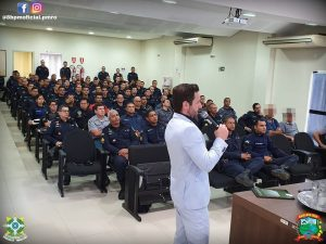 Jaru: Policiais Militares participam de palestra no MP sobre nova Lei de Abuso de Autoridade