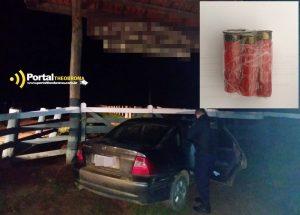 Theobroma: PM apreende munições de espingarda após denúncia de veículo abandonado