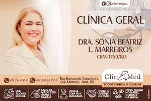 Dr. Sonia, Clínica Geral, atende todos os dias na Clin Med, sem necessidade de agendamento de Consulta!