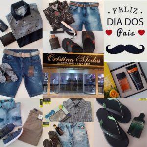 Dia Dos Pais chegando, a Loja Cristina Modas está com ótimas opções