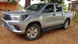 Bandidos roubam caminhonete na zona rural de Monte Negro