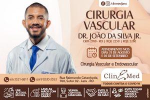Atendimento com Cirurgião Vascular na ClinMed