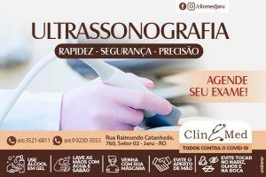 Venha realizar o seu exame de Ultrassonografia na ClinMed