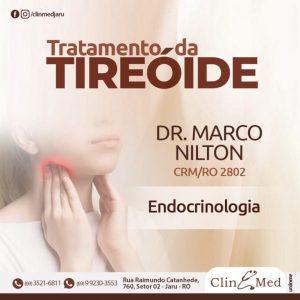 Nesta segunda-feira (19) Atendimento em Endocrinologia na ClinMed