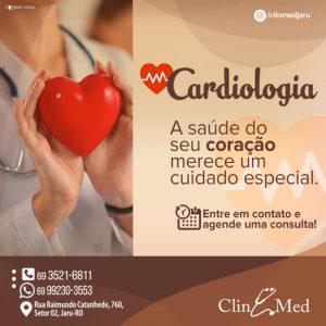 Precisando de um Cardiologista? A ClinMed tem, venha agendar sua consulta!