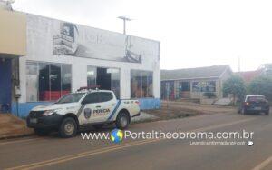 Loja Tok Móveis é arrombada e furtada por criminosos na cidade de Theobroma