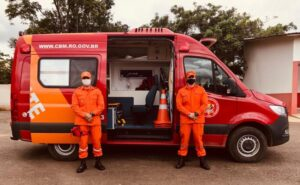 Quartel do Corpo de Bombeiros Militar de Jaru/RO recebe Unidade de Resgate