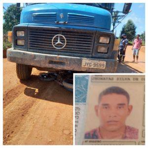 Mototaxista de 32 anos perde a vida em grave acidente de trânsito na zona rural de Machadinho