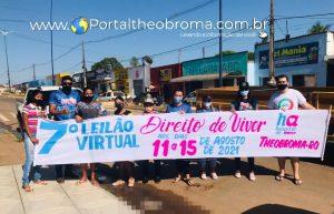 Equipe do 7º Leilão Virtual Direito de Viver de Theobroma em prol do Hospital de Amor Amazônia realiza Pit Stop